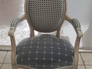 cannage fauteuil louis XVI