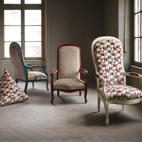 tapisserie Reims, profession tapissier avec cannage