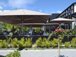 parasols de qualité pour restaurant Bezannes